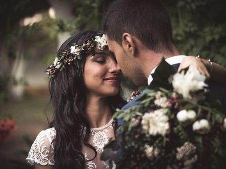 La boda de Alejandra y Andrés: el amor más puro y boho chic
