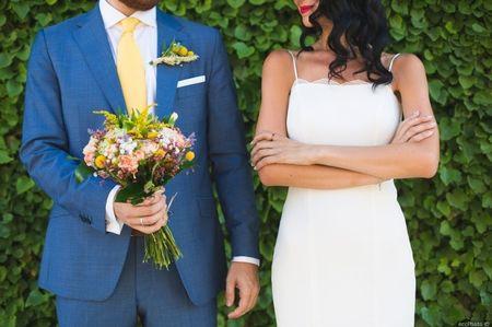 La boda de Eva y Miguel: llegó el amor tras años de amistad