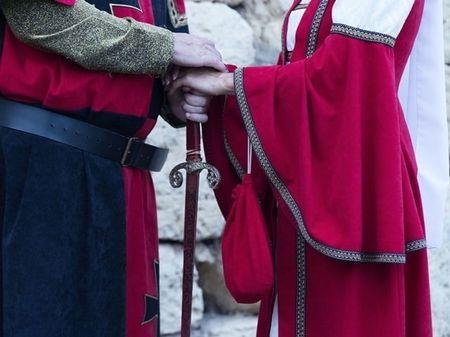 La boda de Lerín y Ángel: un amor de película ambientado en el medievo