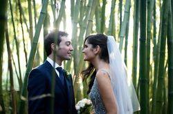 La boda de Alba y Fernando: la belleza más romántica de un invernadero