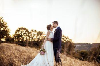 La boda de David y Carla: un amor de juventud