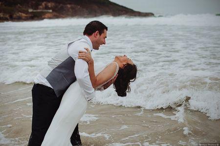 La boda de Dani y Rocío: la combinación perfecta de elegancia y tradición
