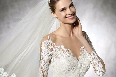 Vestidos de novia Pronovias 2017: la nobleza más exquisita