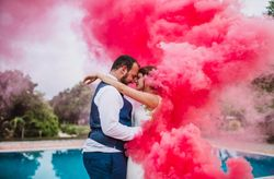 """La boda de Sonia y Josh: un romántico """"sí, quiero"""" inspirado en la ciudad de Las Vegas"""