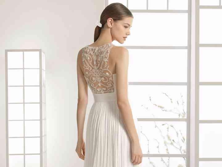 Vestidos De Novia Rosa Clará 2017 Sencillez Y Perfección En