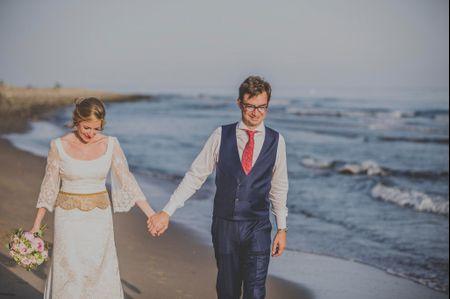 La boda de Ángel y María: lo que parecía imposible se convirtió en un amor real