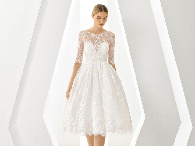 50 vestidos midi: ¡sí a las novias diferentes!