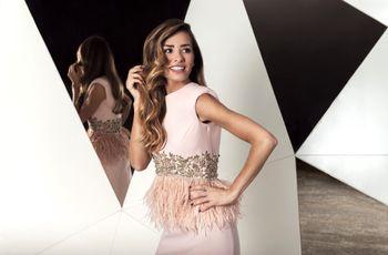 Vestidos de fiesta Cristina Tamborero 2019: sensibilidad y elegancia femenina