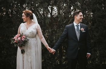 La boda de Rocío y Alberto: su amor es más fuerte que las supersticiones