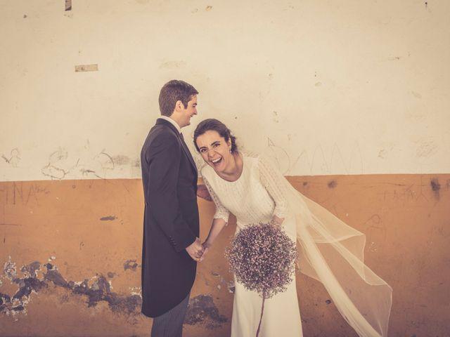 La boda de Miguel y Águeda: el amor unió sus espíritus aventureros
