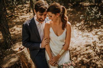 El enlace de Angélica y Tommy: súper íntimo y con telón de fondo rural