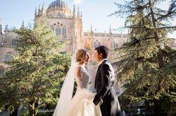La boda de Borja y Macu: un amor nacido de una bonita e inolvidable coincidencia