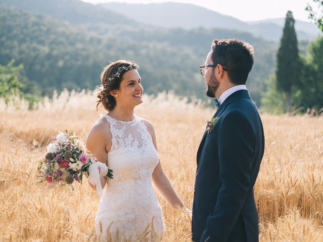 """La boda de Aitor y Beatriz: un """"sí, quiero"""" cuidado al mínimo detalle"""