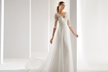 55 vestidos de novia con tattoo lace. ¡Triunfa!