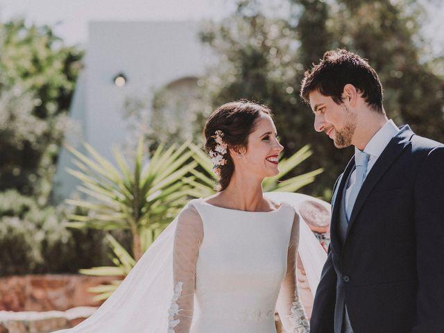 La historia de amor de Elo y Pedro hecha boda, en Cabo de Gata