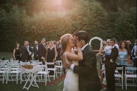 La boda de Cristian y Patri: un amor de adolescencia llevado a lo más alto