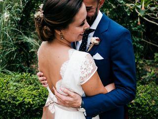 La boda de Salva y Lara: una boda íntima y llena de encanto