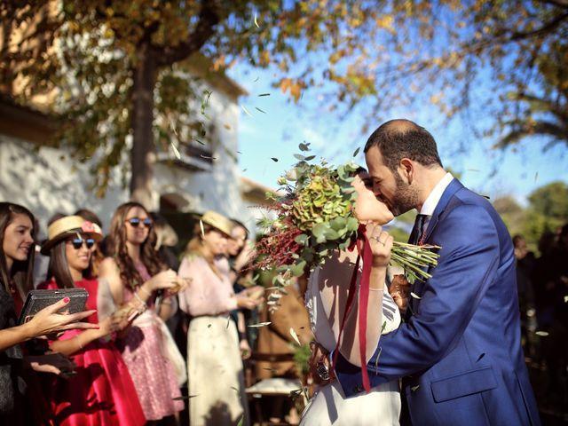 """La boda de Nacho y Lucía: un """"sí, quiero"""" en el romántico invierno"""