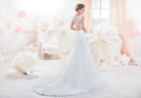 20 vestidos de novia con espalda tattoo lace
