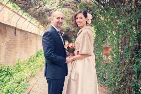 La boda de Patricia y Dani: un amor que siempre había estado cerca