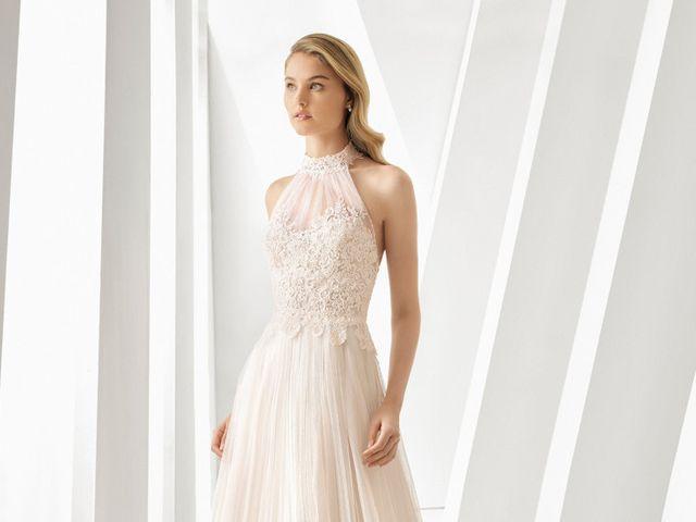 45 vestidos de novia con escote halter que te enamorarán