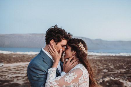 Mónica y Álvaro: la mejor promesa de amor en La Graciosa