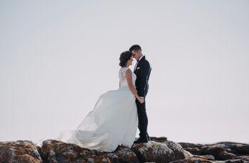 """La boda de Selene y Carlos: más que un """"sí, quiero"""", una ¡gran fiesta!"""