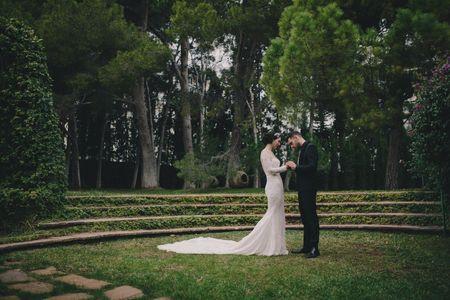 La boda de Marta y Carlos: la belleza de los pequeños detalles