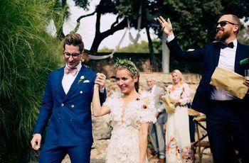 """La boda de Christian y Johanna: un """"sí, quiero"""" con aires hollywoodenses"""