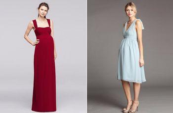 30 vestidos de fiesta premamá para invitadas embarazadas