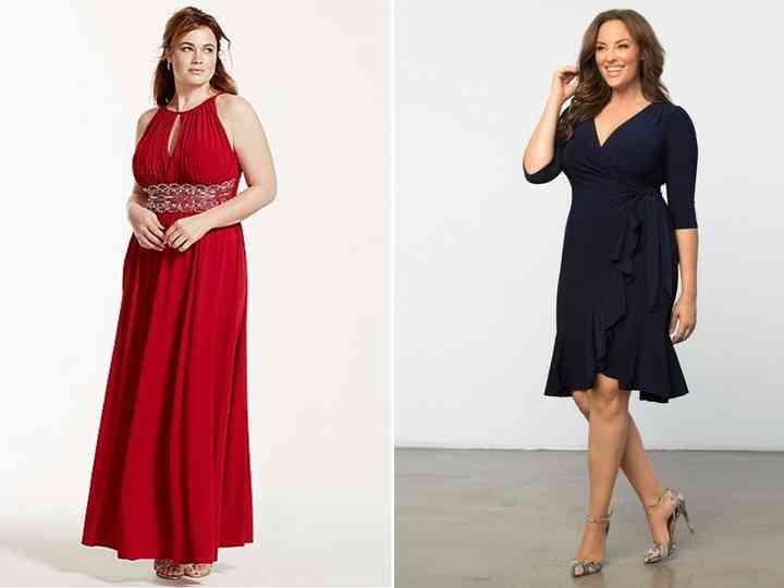 Vestidos de fiesta en tallas grandes: los 23 modelos más bonitos