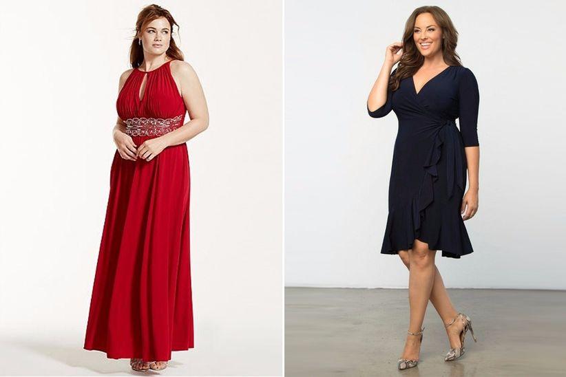 719ba420361 Vestidos de fiesta en tallas grandes  los 23 modelos más bonitos