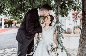 """La boda de Rocío y Txus: un especial """"sí, quiero"""" tras una pedida mágica en Nueva York"""