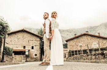 La boda de Lorena y José: ¡unos novios diferentes!