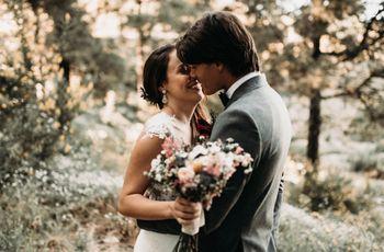 La boda de Susy y Marc: intimidad, magia y amor en mayúsculas