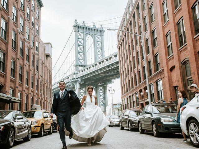 ¡Much love and New York!: la postboda urbana de Manu y Fani