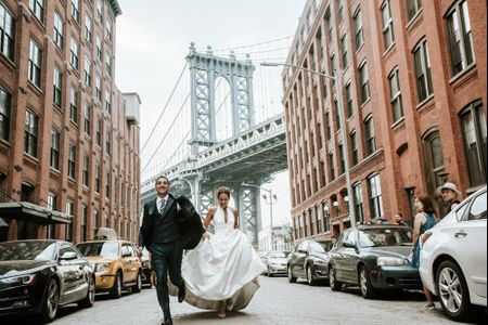 ¡Much love and New York!: la postboda urbana de Manu y Fani