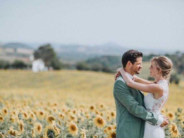 La boda de Peter y Wietske: ¡el auténtico amor nació a primera vista!