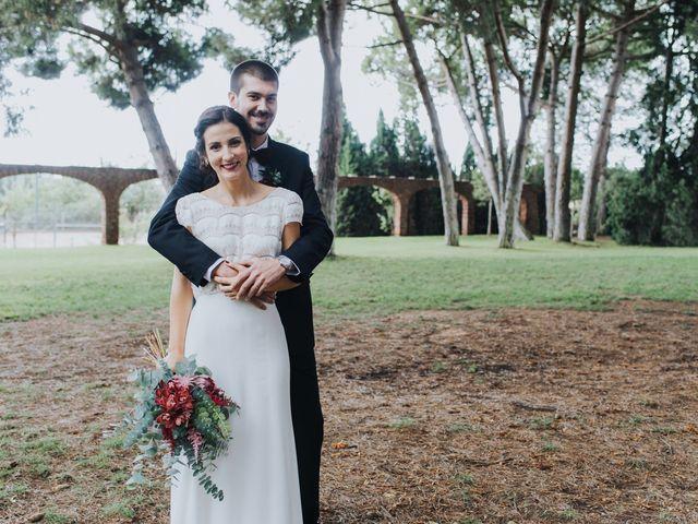 """La boda de Víctor y Elena: un """"sí, quiero"""" de inspiración otoñal"""