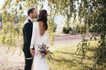 La boda de Sara y Jordi: preciosos colores otoñales