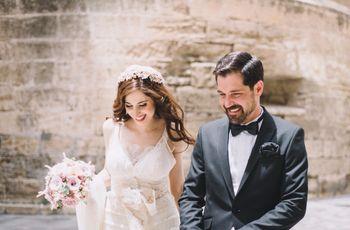 """La boda de Mariano y Rosario: todo romanticismo en un """"sí, quiero"""" de ensueño"""