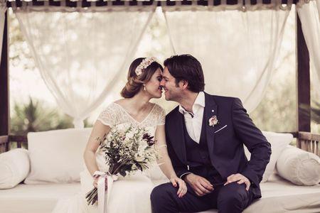 La boda de Sandra y Guille: encontraron al compañero de vida perfecto