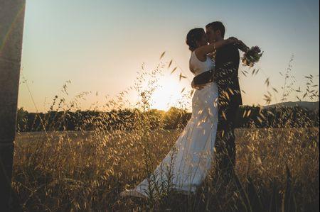 La boda de Núria y Gaëtan: una pedida en lo alto de un globo aerostático