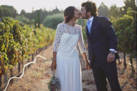 """La boda de Diego y Clara: un romántico """"sí, quiero"""" entre viñedos"""