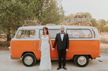 La boda de Carlos y Gema: un enlace original con ¡mucha personalidad!