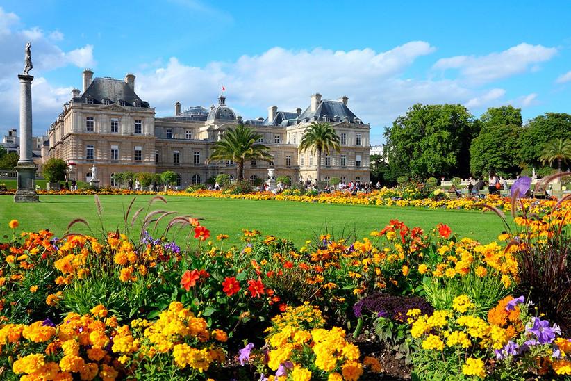 Luna de miel o escapada romántica antes de la boda en París: Jardín de Luxemburgo