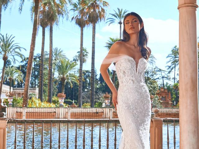 Los vestidos de novia de Pronovias 2022 te harán soñar despierta... ¡una y otra vez!