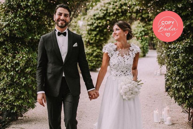 boda Alexandra Pereira y Ghassan Fallaha al aire libre