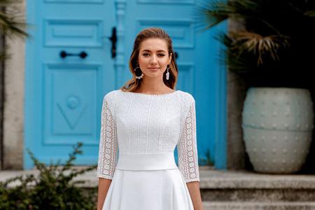 50 vestidos de novia con escote barco... ¡perfectos para deslumbrar!