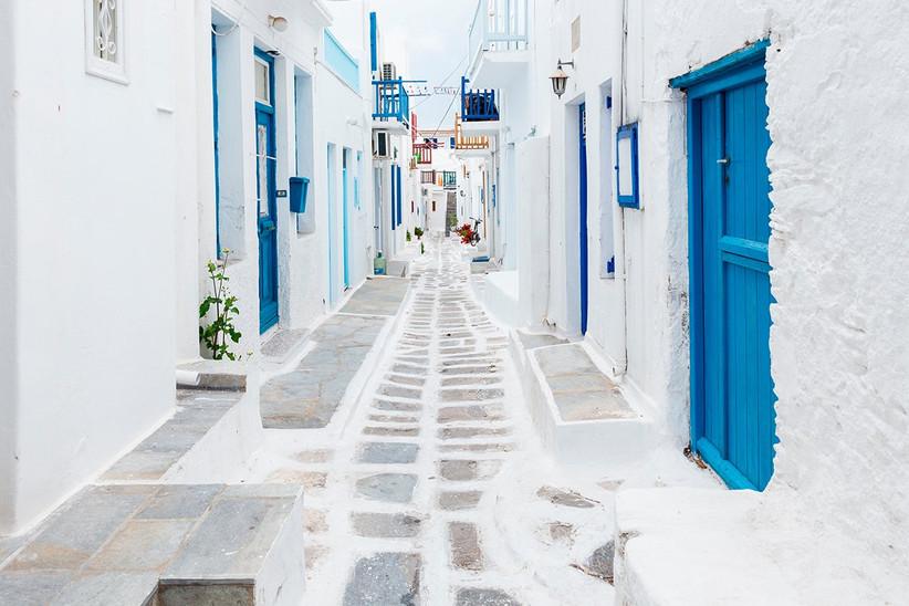 Mykonos, Grecia, un destino perfecto antes o después de la boda